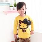 เสื้อแขนยาวแมวเหมียว-สีเหลือง-(5-ตัว/pack)