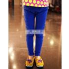 กางเกงขายาวเข้ารูป-สีน้ำเงิน-(5-ตัว/pack)