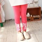 กางเกงเลกกิ้งโบว์ไขว้กัน-สีชมพู-(5-ตัว-/pack)