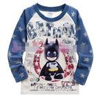 เสื้อยืดแขนยาว-Baby-BatMan-สีฟ้า-(5size/pack)