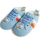 รองเท้าเด็ก-Hello-Kitty-สีฟ้า