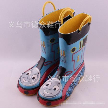 รองเท้าบู๊ทกันน้ำ Locomotive สีฟ้า(5 คู่/แพ็ค)