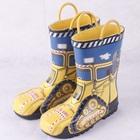 รองเท้าบู๊ทกันน้ำ-Locomotive-สีเหลือง(5-คู่/แพ็ค)