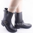 รองเท้าบู๊ทกันน้ำ-สีดำ-(5-คู่/แพ็ค)