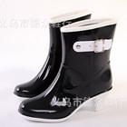 รองเท้าบู๊ทส้นสูงกันน้ำ-สีดำ-(5-คู่/แพ็ค)