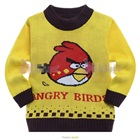 เสื้อกันหนาวแขนยาว-Angry-Bird-สีเหลือง(6-ตัว/pack)