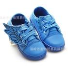 รองเท้าผ้าใบปีกนางฟ้า-สีน้ำเงิน-(6-คู่/แพ็ค)