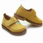 รองเท้าผ้ากำมะหยี่คุณชาย-สีเหลือง(5-คู่/แพ็ค)