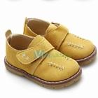 รองเท้าผ้าคุณชายปักด้าย-สีเหลือง(5-คู่/แพ็ค)