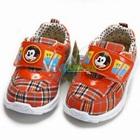 รองเท้าผ้าใบหมาน้อย-สีส้ม-(6-คู่/แพ็ค)