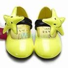 รองเท้าเด็กเดอะสตาร์-สีเหลือง-(6-คู่/แพ็ค)