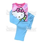 เสื้อและกางเกง-Hello-Kitty-สีชมพู-ฟ้า-(4size/pack)
