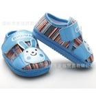 รองเท้าผ้าเด็กกระต่ายยิ้ม-สีฟ้า-(4-คู่/แพ็ค)