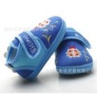 รองเท้าผ้าเด็กเต่าทองน่ารัก-สีฟ้า-(4-คู่/แพ็ค)