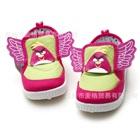 รองเท้าเด็ก-Angry-Bird-ติดปีกสีชมพู-(6-คู่/แพ็ค)