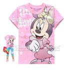 เสื้อยืดแขนสั้น-Minnie-Mouse-สีชมพู-(6size/pack)
