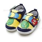 รองเท้าเด็กหนอนน้อย-สีน้ำเงินเหลือง-(6-คู่/แพ็ค)