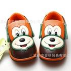 รองเท้าเด็กหมาน้อยยิ้มแฉ่งสีน้ำตาล-(5-คู่/แพ็ค)