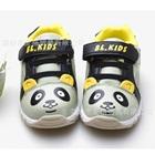 รองเท้าผ้าใบหมีแพนด้า-สีครีมเทา-(6-คู่/แพ็ค)