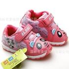 รองเท้าผ้าใบหมีแพนด้า-สีชมพู-(6-คู่/แพ็ค)