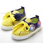 รองเท้าผ้าใบ-Angry-Bird-สีเหลือง-(6-คู่/แพ็ค)