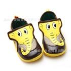 รองเท้าเด็กช้างน้อย-สีน้ำตาล-(6-คู่/แพ็ค)