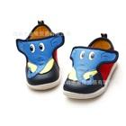 รองเท้าเด็กช้างน้อย-สีน้ำเงิน-(6-คู่/แพ็ค)