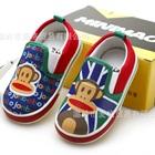 รองเท้าเด็ก-Paul-Frank-หลากสี-(6-คู่/แพ็ค)