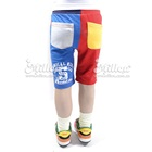 กางเกงขาสามส่วนแฟชั่น-สีแดงฟ้า-(6size/pack)