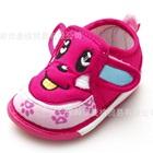 รองเท้าเด็ก-Cartoon-puppy-สีชมพู-(6-คู่/แพ็ค)