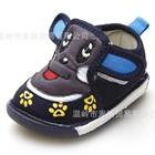 รองเท้าเด็ก-Cartoon-puppy-สีน้ำเงิน-(6-คู่/แพ็ค)