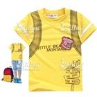 เสื้อยืดแขนสั้น-Little-Bear-สีเหลือง-(6size/pack)