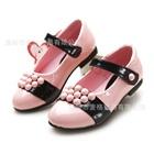 รองเท้าเด็กเจ้าหญิงลูกปัด-สีชมพู-(5-คู่/แพ็ค)