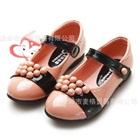 รองเท้าเด็กเจ้าหญิงลูกปัด-สีชมพูเข้ม-(5-คู่/แพ็ค)