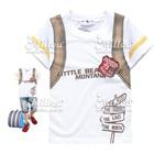 เสื้อยืดแขนสั้น-Little-Bear-สีขาว-(6size/pack)
