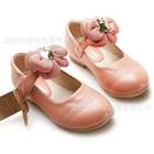 รองเท้าเด็กดอกไม้บาน-สีชมพูเข้ม-(6-คู่/แพ็ค)