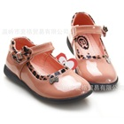 รองเท้าเด็กเจ้าหญิงขอบเสือ-สีชมพูเข้ม-(5-คู่/แพ็ค)