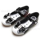 รองเท้าเจ้าหญิงโบว์ใหญ่-สีดำ-(5-คู่/แพ็ค)