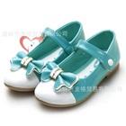 รองเท้าเจ้าหญิงโบว์ใหญ่-สีฟ้า-(5-คู่/แพ็ค)