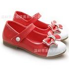 รองเท้าเจ้าหญิงโบว์ใหญ่-สีแดง-(5-คู่/แพ็ค)
