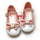รองเท้าเจ้าหญิงโบว์ใหญ่-สีชมพู-(5-คู่/แพ็ค)