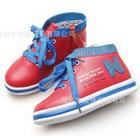 รองเท้าผ้าใบ-Annie-Princess-สีแดงแตงโม(5-คู่/แพ็ค)