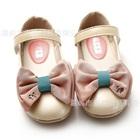 รองเท้าเด็กโบว์สองชั้น-สีชมพู-(6-คู่/แพ็ค)
