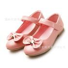 รองเท้าเด็กโบว์เล็กๆ-สีชมพู-(5-คู่/แพ็ค)