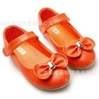 รองเท้าเด็กโบว์เล็กๆ-สีส้ม-(5-คู่/แพ็ค)