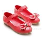 รองเท้าเด็กโบว์เล็กๆ-สีแดงแตงโม-(5-คู่/แพ็ค)