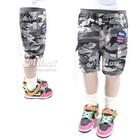 กางเกงขาสามส่วนแฟชั่น-สีเทา(6size/pack)