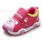 รองเท้าเด็กผ้าใบงูน้อย-สีชมพู-(5-คู่/แพ็ค)