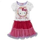 เดรสแขนสั้น-Hello-Kitty-สีขาว-(5-ตัว/pack)