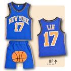 เซ็ตเสื้อกางเกง-Basketball-คละสี-(6-ตัว/pack)